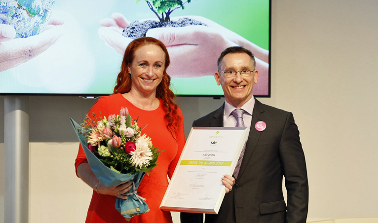 AIDA Green Spa Award 2017