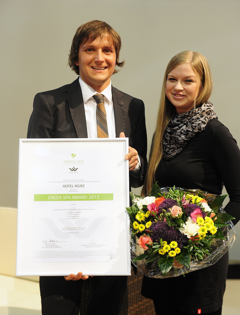 Green Spa Award 2012
