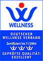 Deutscher Wellnessverband: gepr�fte Qualit�t EXZELLENT