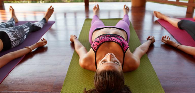 Yoga zur Gewichtsreduktion eingefrorene Videos