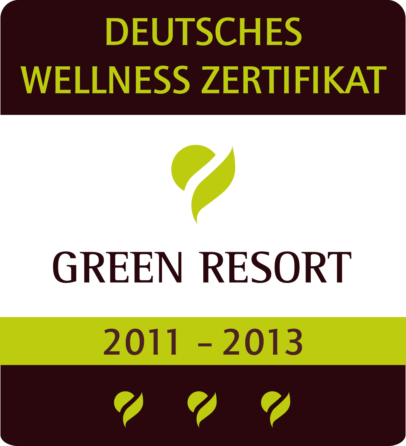green resort zertifikat