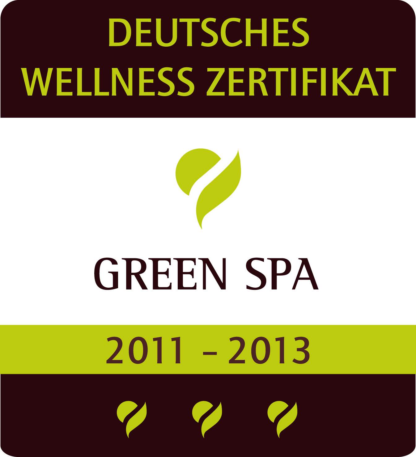 GREEN SPA ZERTIFIKAT